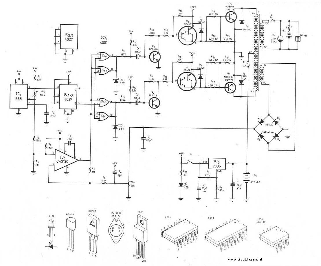 1000w power inverter pcb layout design