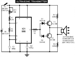 ultrasonic sensor switch