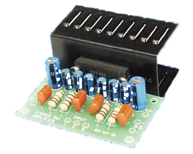 2 x 3W Stereo Audio Amplifier with IC BA5406