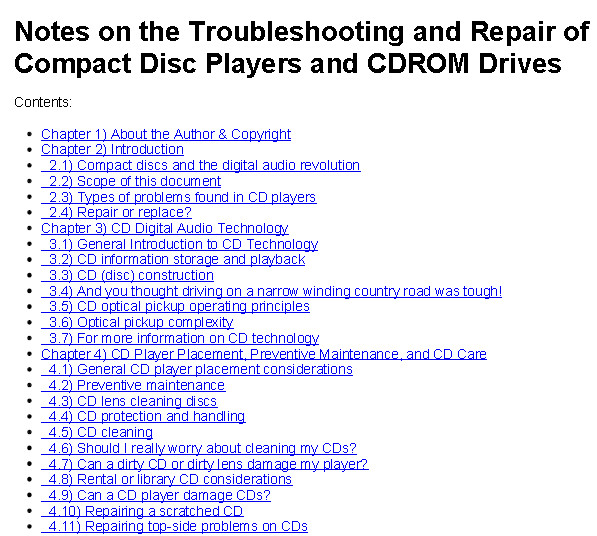 CD/DVD/Bluray-Disk Drives Troubleshooting and Repair Tutorial