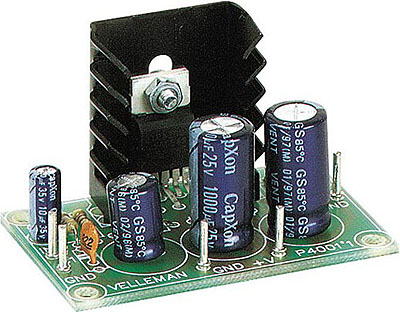 7 Watt Audio Amplifier with IC TDA2003