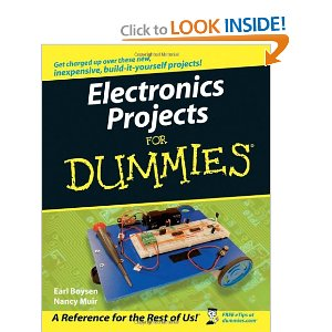 Books on electronics projects useful