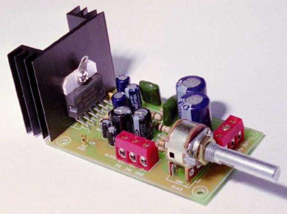 6-10W Stereo Audio Amplifier with IC TDA2005