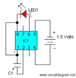 simple flasher wiring diagram led flasher wiring diagram #12
