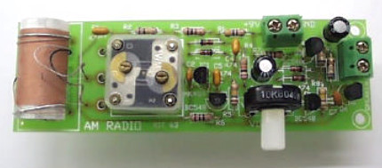 One Chip AM Radio Receiver