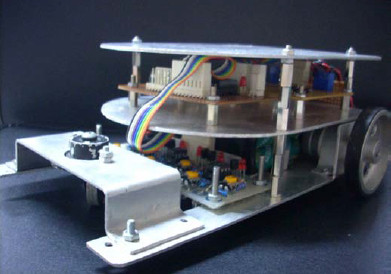 ATmega8535 Line Follower Robot