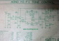 Hi-Fi Tone Control Circuit Electronic