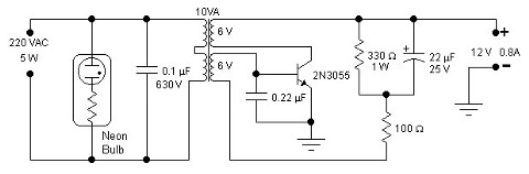 simple inverter 12v dc to 120v ac schematic design 25w low power inverter · 5w simple inverter