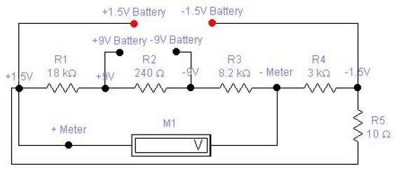 1   5V    and 9V    Battery    Tester     Schematic    Design
