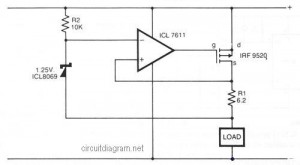 Safe Constant Current Source circuit