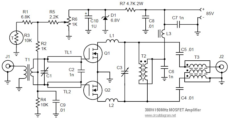 linear power supply schematic