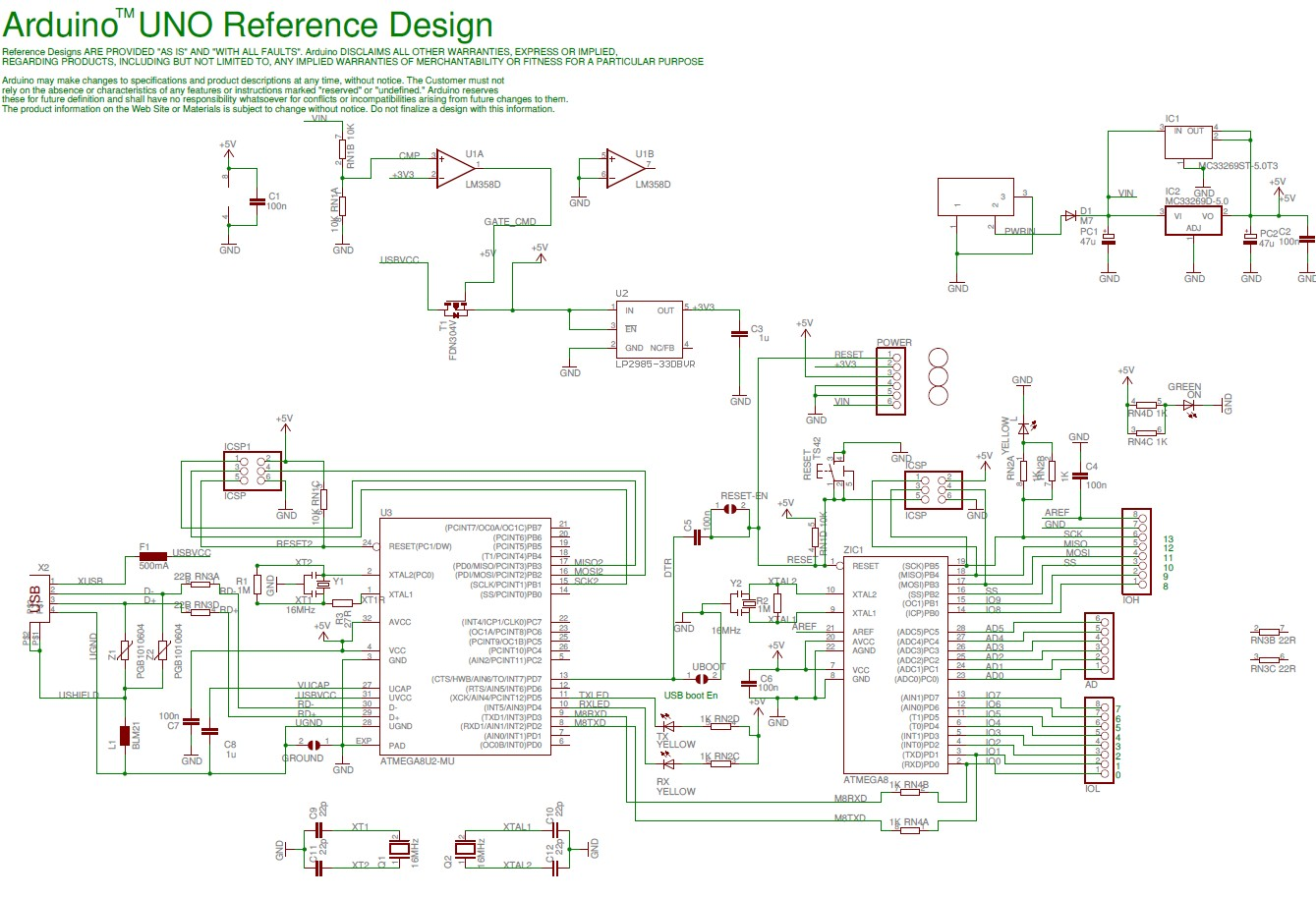 Electronic circuit diagram page of the huge