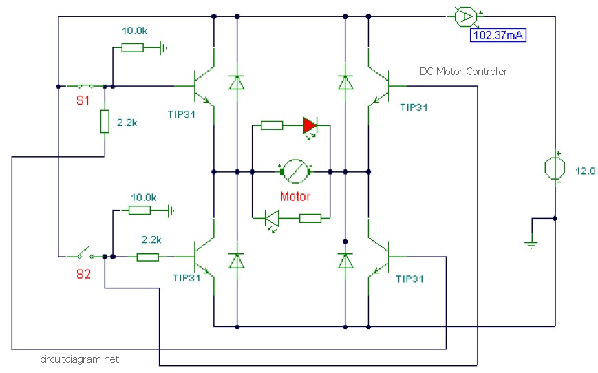 Electronic Motor Starter - Schematic Design on