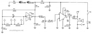 IC 484 AM Radio Receiver circuit