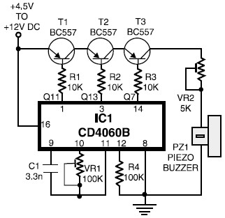 Light Sensitive Switch Circuit Diagram also Imple Home Alarm System Home Alarm besides Pocket Fm Stereo Radio Circuit With Ta2111f further Mosfet Power  lifier 100 Watt Schematic Diagram L23799 in addition High Power  lifier Schematic. on 555 transmitter schematic