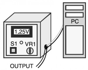 1   9V Variable Desktop Power Supply circuit