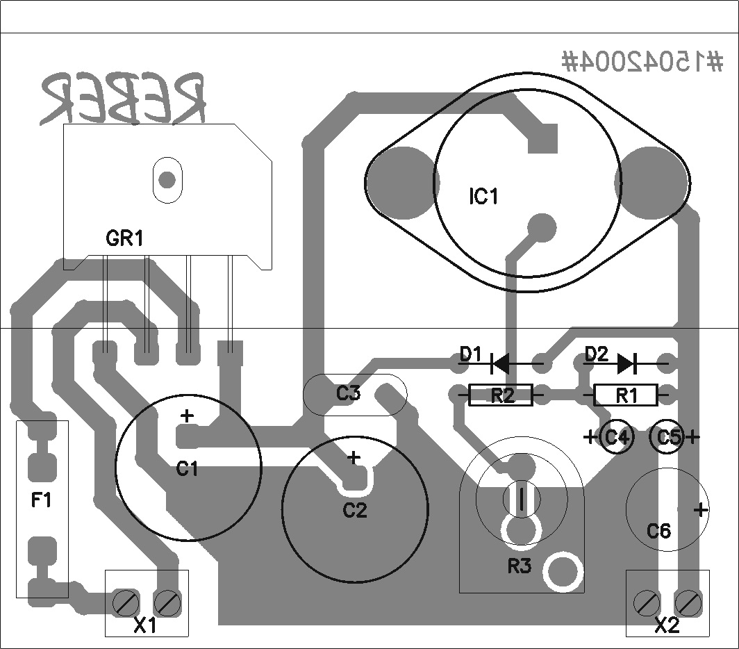 Cell Phone Charger Schematic furthermore Robot Schematic Diagrams as well ponents Placement For Variable Power Supply Lm338k 2 moreover  on variable adjustable dc power supply 1 2v 25v using lm338k