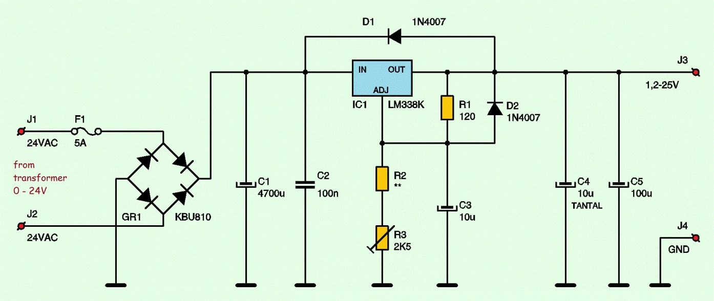 Variable power supply circuit pdf writer