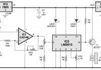 Aquarium Probe Circuit Diagram