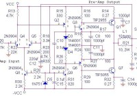 70 Watt OCL Power Amplifier Circuit