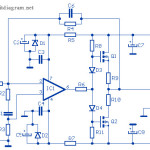 12W Audio Amplifier based MOSFET 2SK135 / 2SJ50