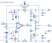 12W Audio Amplifier based MOSFET 2SK135 / 2SJ50