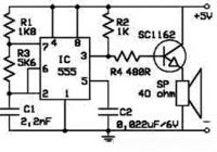 Electronic Rat Repellent Circuit